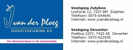 J. van der Ploeg Dienstverlening B.V.